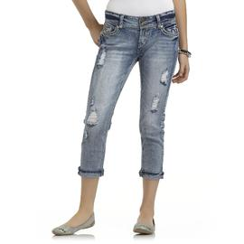 Bongo Junior's Embellished Jeans - Butterfly Pockets at Sears.com