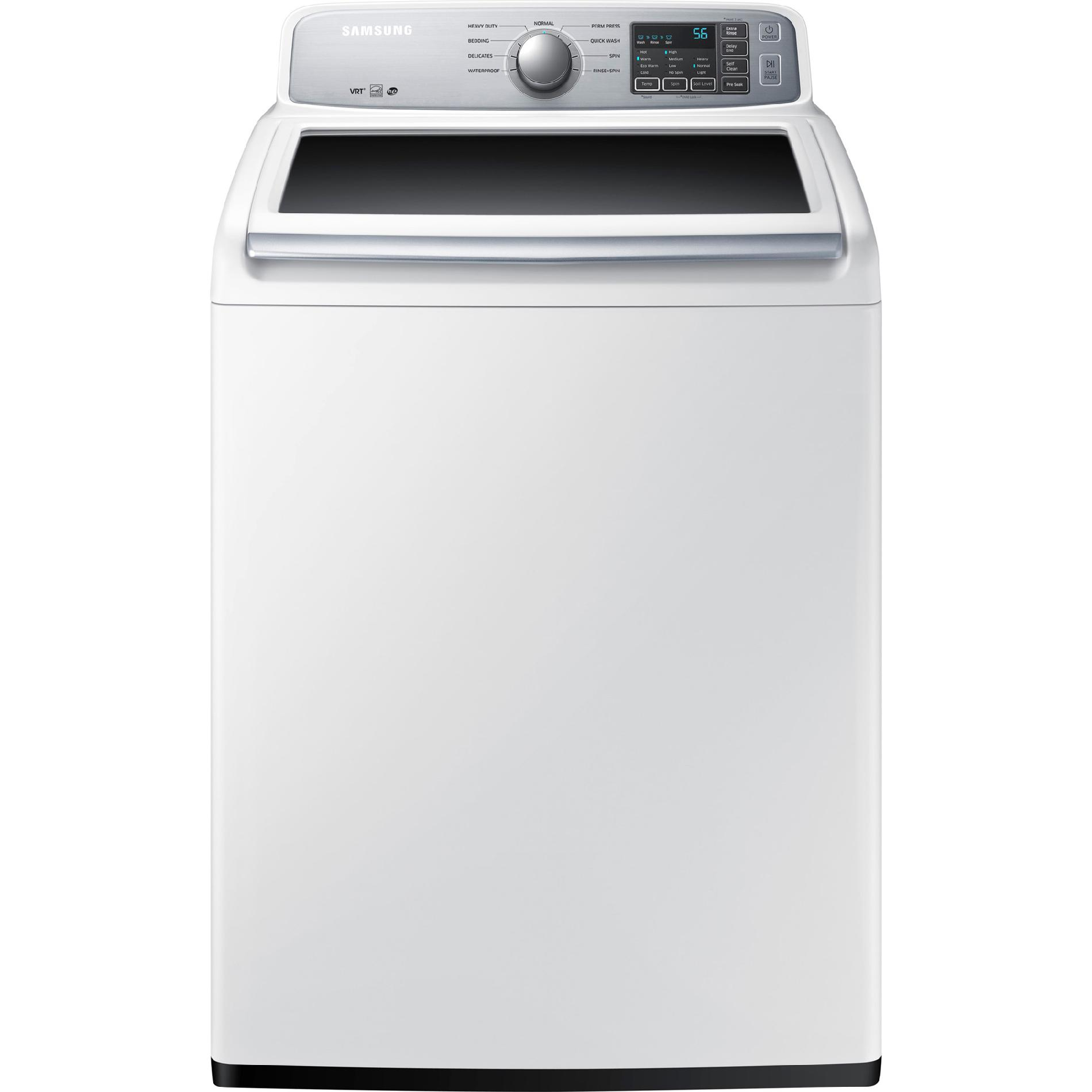 Samsung WA45H7000AW 4.5 cu. ft. Top-Load Washer - White PartNumber: 02636442000P KsnValue: 7279991 MfgPartNumber: WA45H7000AW