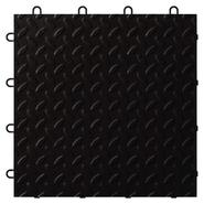 Gladiator Black Tile Flooring (24-Pack) at Sears.com
