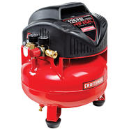 Craftsman 4 Gallon oil free pancake air compressor at Craftsman.com