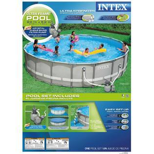 Ultra Frame Backyard Pool Bring Active Warm Weather