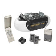 Craftsman Garage Door Opener 1/2 hp Chain Drive, 2 Security+® 3-function Remote Controls at Craftsman.com