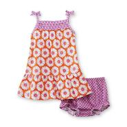 Little Wonders Newborn & Infant Girl's Sleeveless Dress & Diaper Cover - Daisy at Sears.com