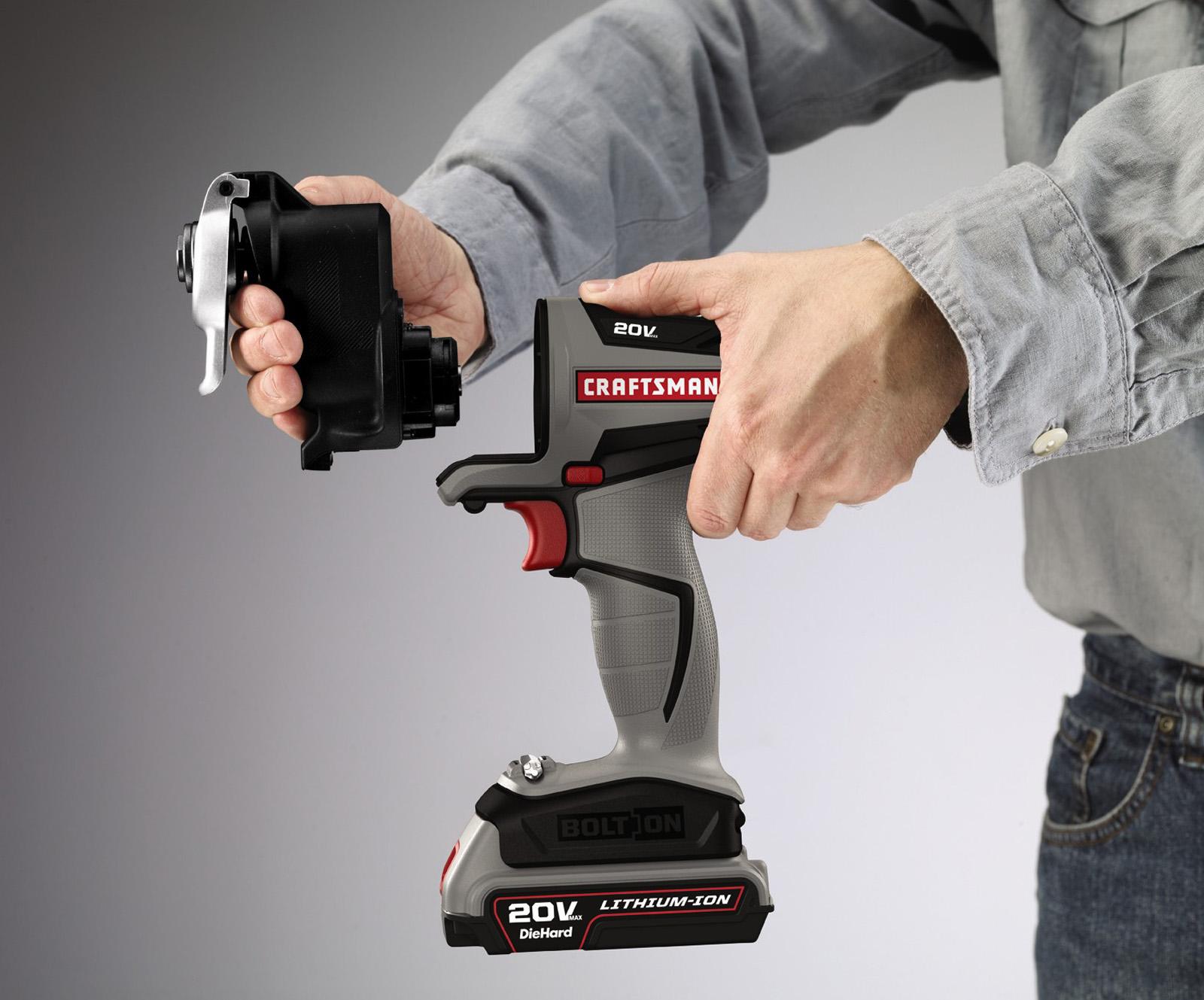 Craftsman Bolt-On ™  Oscillating Attachment