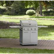 Kenmore Stainless Steel 4 Burner Gas Grill With Folding Side Shelves Bundle at Sears.com