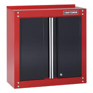"Craftsman 28"" Wide Wall Cabinet - Red/Black at Sears.com"