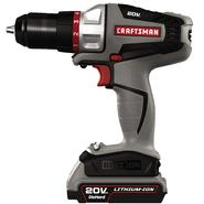 Craftsman Bolt-On 20V Max Lithium Ion Drill/Driver Kit at Sears.com