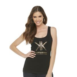 Kardashian Kollection Women's Logo Tank Top - Sequins at Sears.com