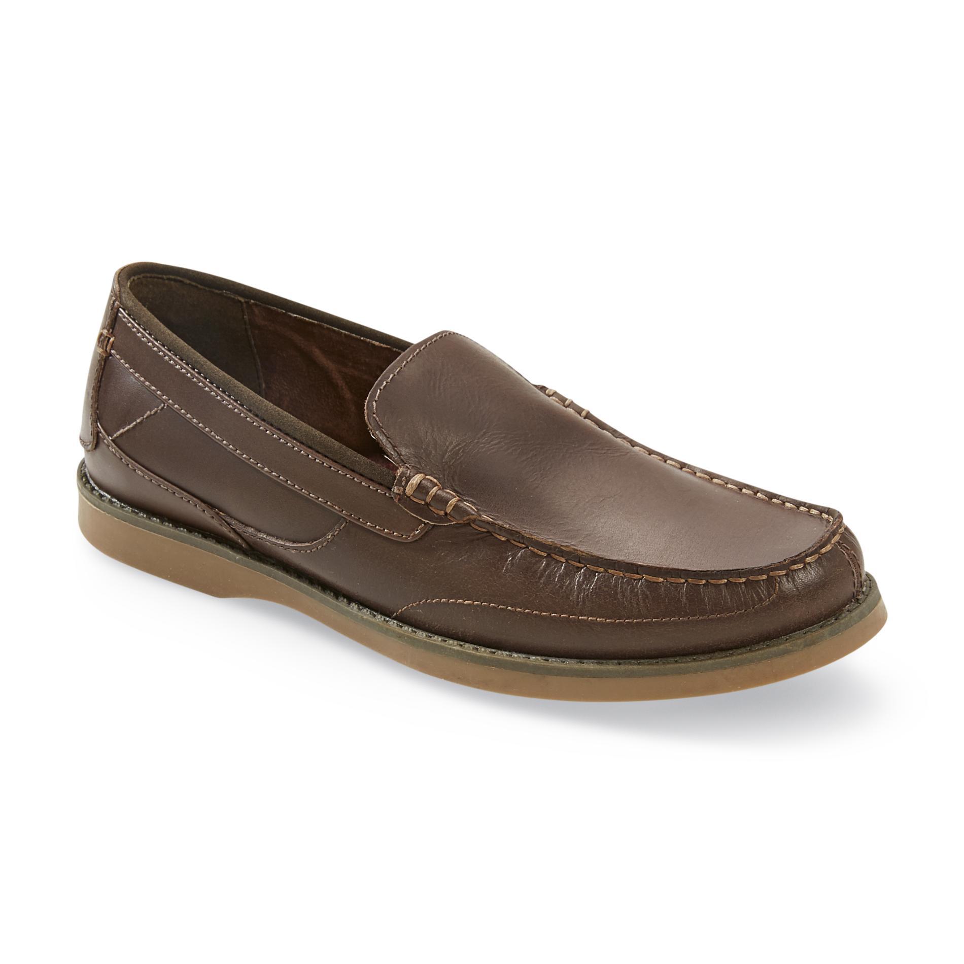 Nunn Bush Men's Luddington Brown Loafer