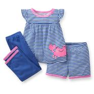 Carter's Infant Girl's 3-Piece Pajama - Crab at Sears.com