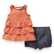 Carter's Newborn & Infant Girl's Ruffle Tunic & Bubble Shorts at Sears.com
