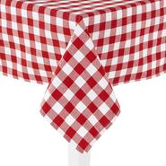 Essential Home Oblong Umbrella Tablecloth - Cafe Checkered at Kmart.com