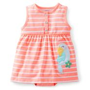 Carter's Newborn & Infant Girl's Sleeveless Dress - Parrot at Sears.com