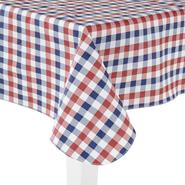 Essential Home Oblong Umbrella Tablecloth - Checkered at Kmart.com
