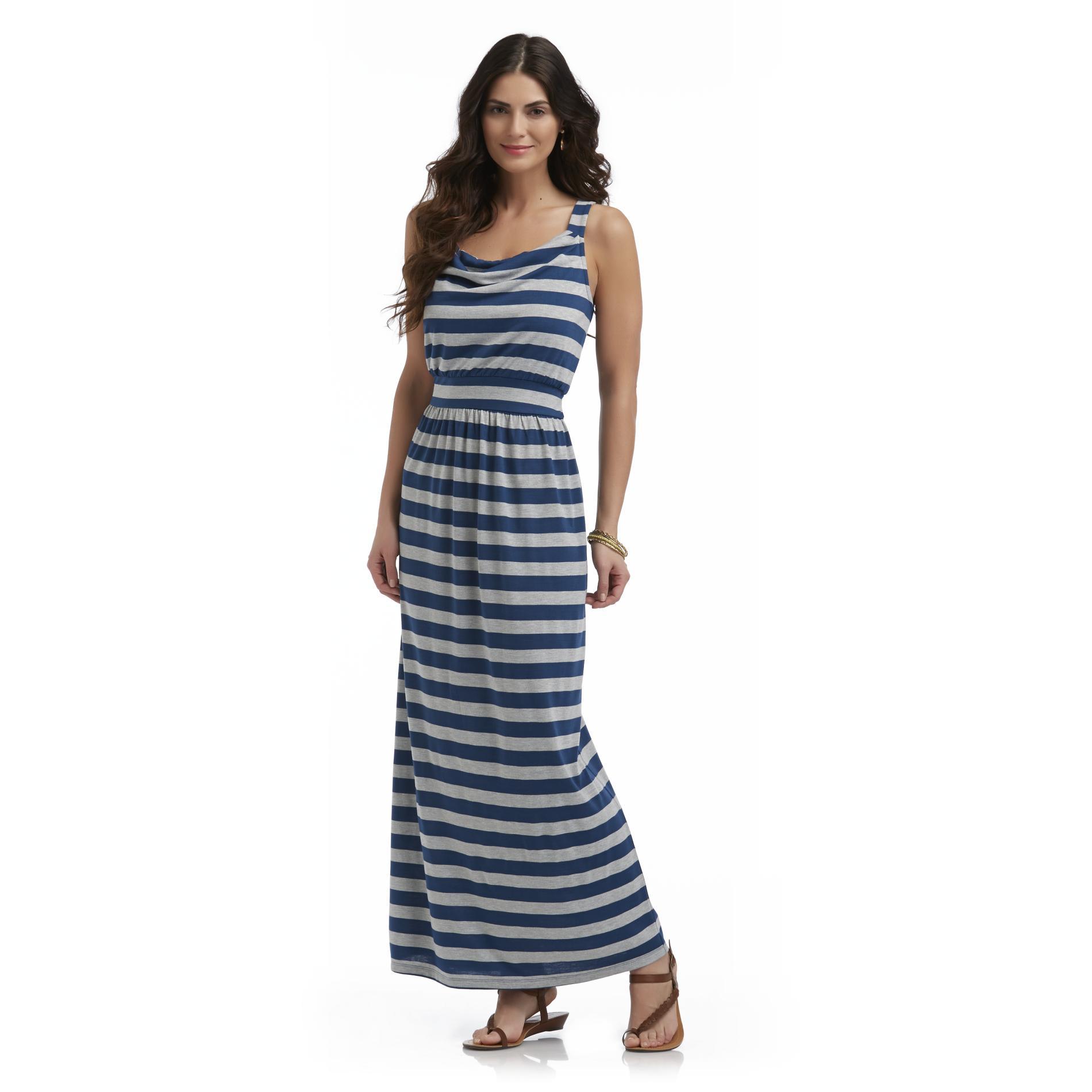 Metaphor Women's Maxi Dress - Striped at Sears.com