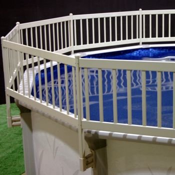 Vinyl works Above Ground Pool Fence Kit (8 Section) - Taupe PartNumber: 004V007753680000P KsnValue: 004V007753680000 MfgPartNumber: NE1331
