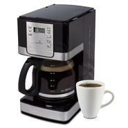 Mr. Coffee 12-Cup Programmable Coffee Maker - Stainless Steel/Black at Sears.com