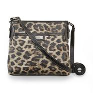 Jaclyn Smith Women's Hampshire Crossbody Handbag - Leopard Print at Kmart.com