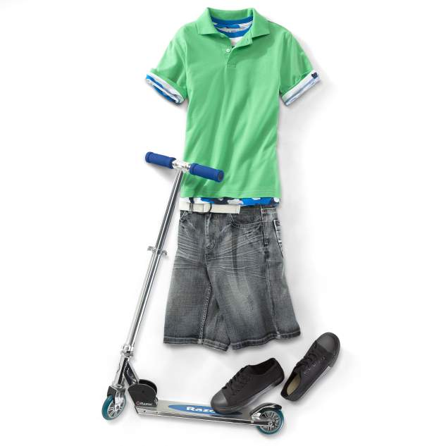 Boy's Scooter Dude Outfit