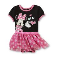 Disney Newborn & Infant Girl's Tiered Tutu Bodysuit - Minnie Mouse at Sears.com