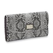 Sofia by Sofia Vergara Women's Riviera Lux Faux Snakeskin Clutch Wallet at Kmart.com
