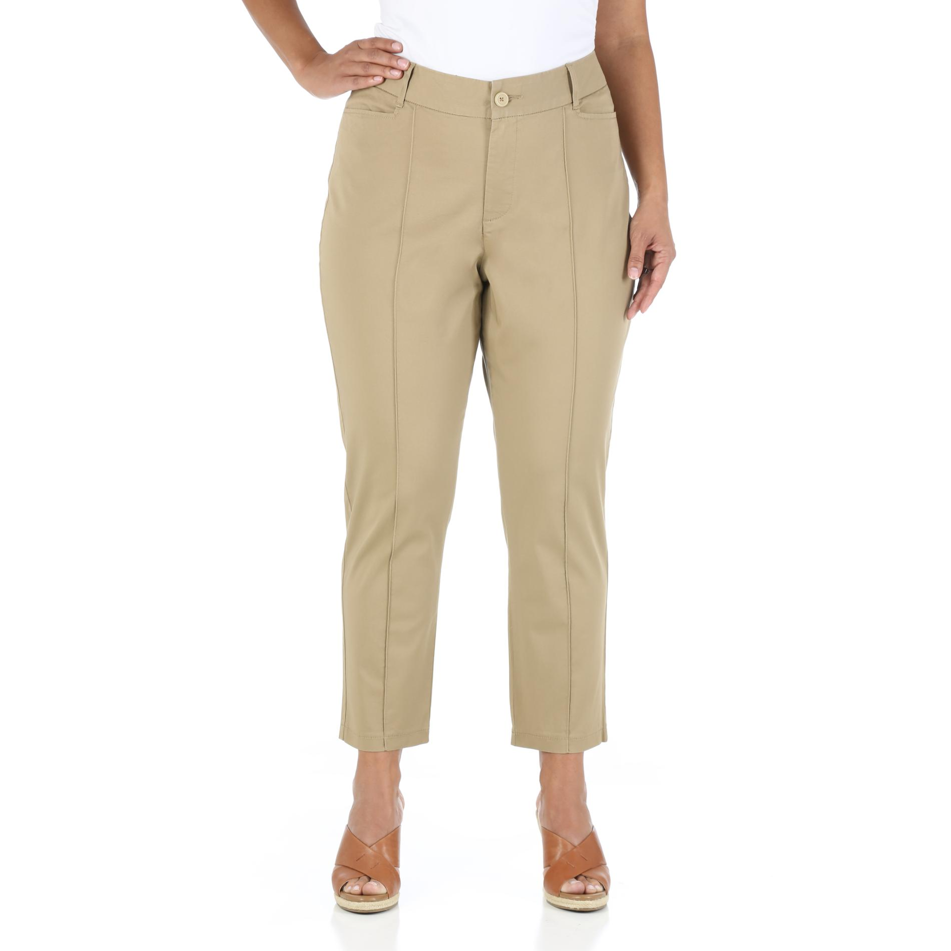Riders by Lee Women's Plus Casual Cropped Pants at Kmart.com