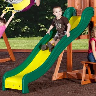 swinging into fun with the backyard discovery somerset wood swing set