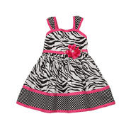 Infant & Toddler's Fuschia Zebra Dress at Sears.com