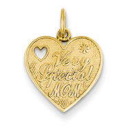goldia 14k Yellow Gold Special Mom Charm at Kmart.com