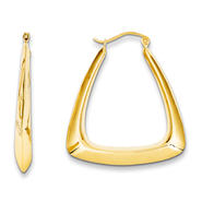 goldia 14k Yellow Gold Fancy Hoop Earrings at Kmart.com