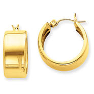 goldia 14k Yellow Gold Hoop Earrings at Kmart.com