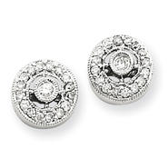 goldia 14k White Gold Vintage Diamond Earrings at Sears.com