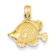 goldia 14K Yellow Gold Fish Pendant at Kmart.com