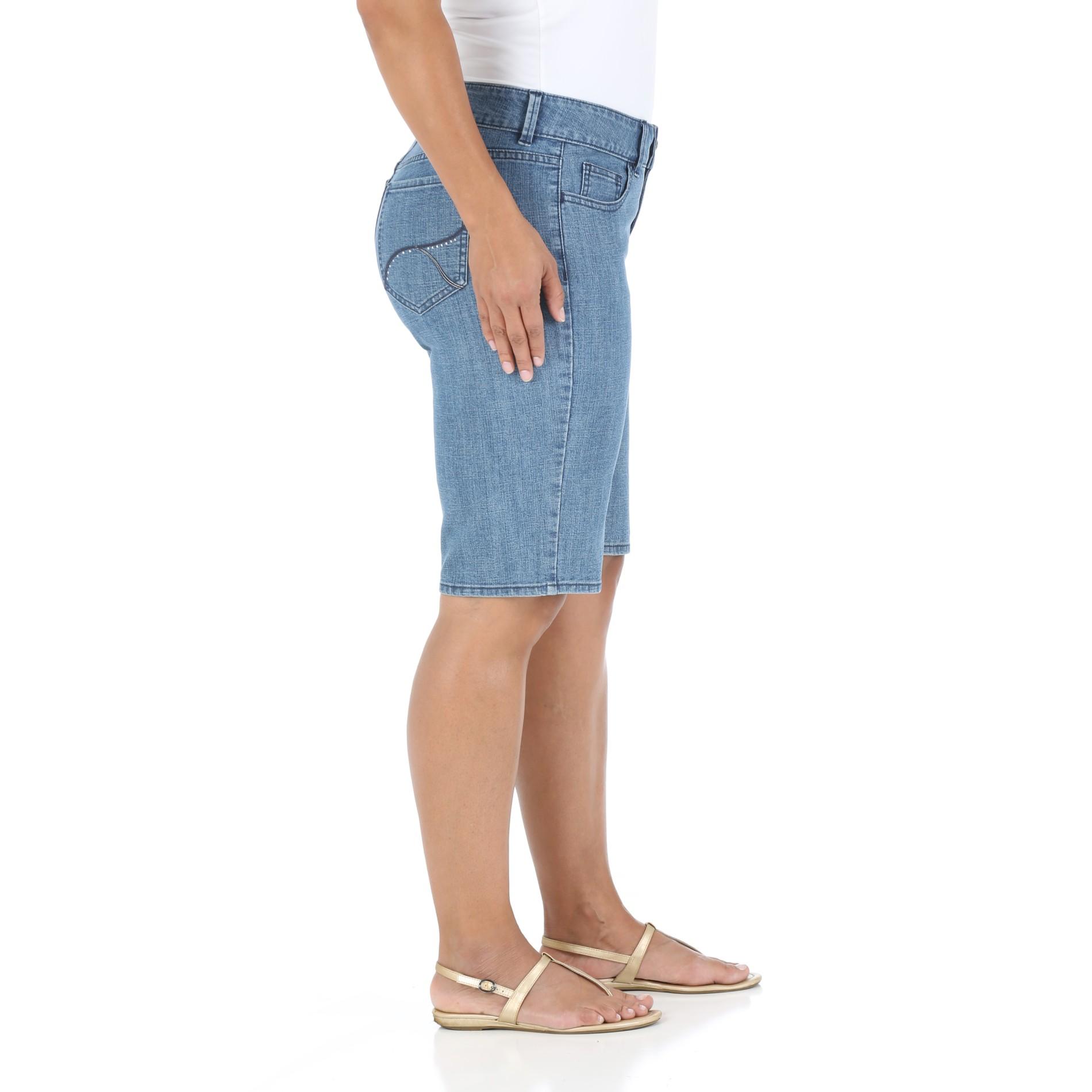 4d1b175876 Riders by Lee Women s Plus Surf Slender Stretch Denim Shorts