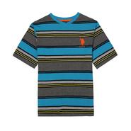 U.S. Polo Assn. Boy's V-Neck T-Shirt - Striped at Sears.com