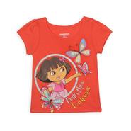 Nickelodeon Dora The Explorer Toddler Girl's Graphic Top at Sears.com