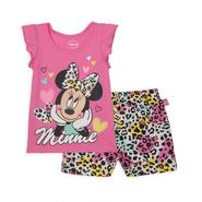 Disney Baby Minnie Mouse Infant & Toddler Girl's Graphic T-Shirt & Shorts at Sears.com