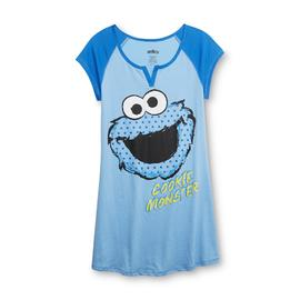 Sesame Street Women's Nightgown - Cookie Monster at Sears.com