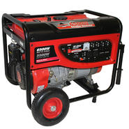 Smarter Tools 6500-Watt Portable Gasoline Generator With No-Flat Wheels, EPA and CARB Approved at Sears.com