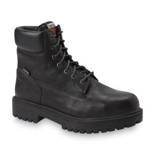 Timberland PRO Men's 6'' Steel Toe Waterproof Insulated Work Boot - Black