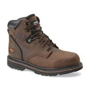 "Timberland PRO Men's Pit Boss 6"" Brown Steel Toe Work Boot at Sears.com"