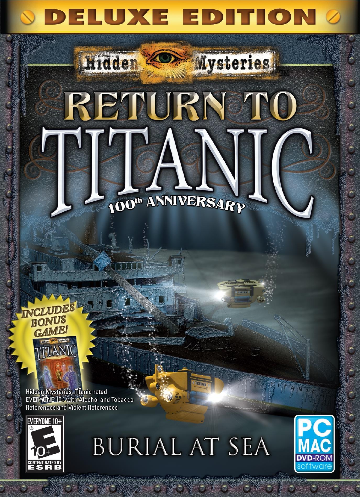 Encore HIDDEN MYSTERIES TITANIC 2 PartNumber: 05844821000P KsnValue: 7885386 MfgPartNumber: 8085582
