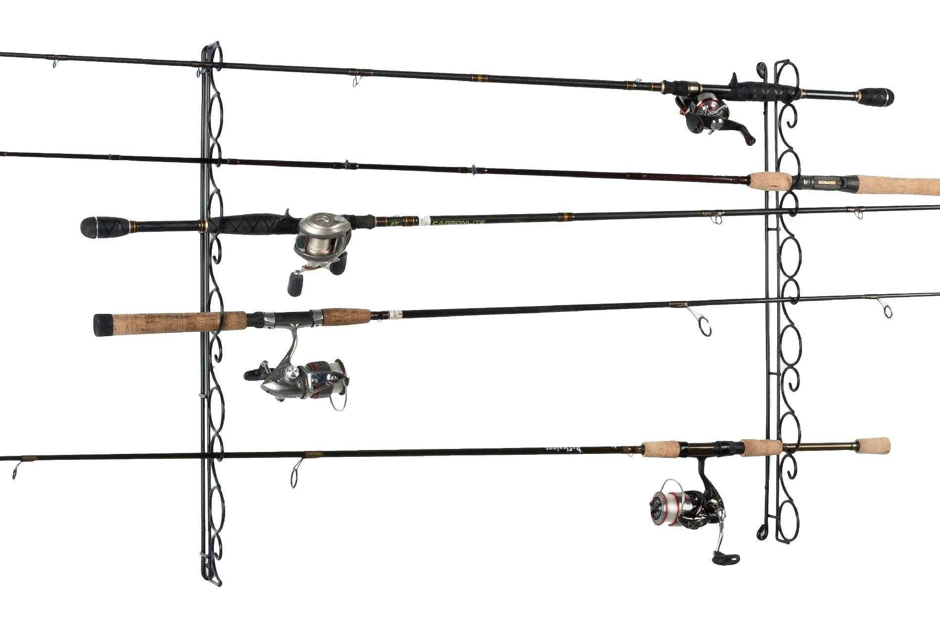 Organized Fishing Horizontal Wire Rack
