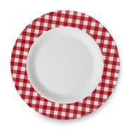 Essential Home Melamine Dinner Plate - Gingham at Kmart.com