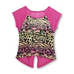 Piper Girl's Sequin Embellished T-Shirt - Animal Print at Kmart.com