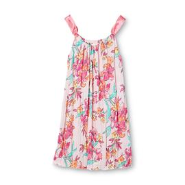 Jaclyn Smith Women's Sleeveless Crinkle Nightgown - Floral at Kmart.com