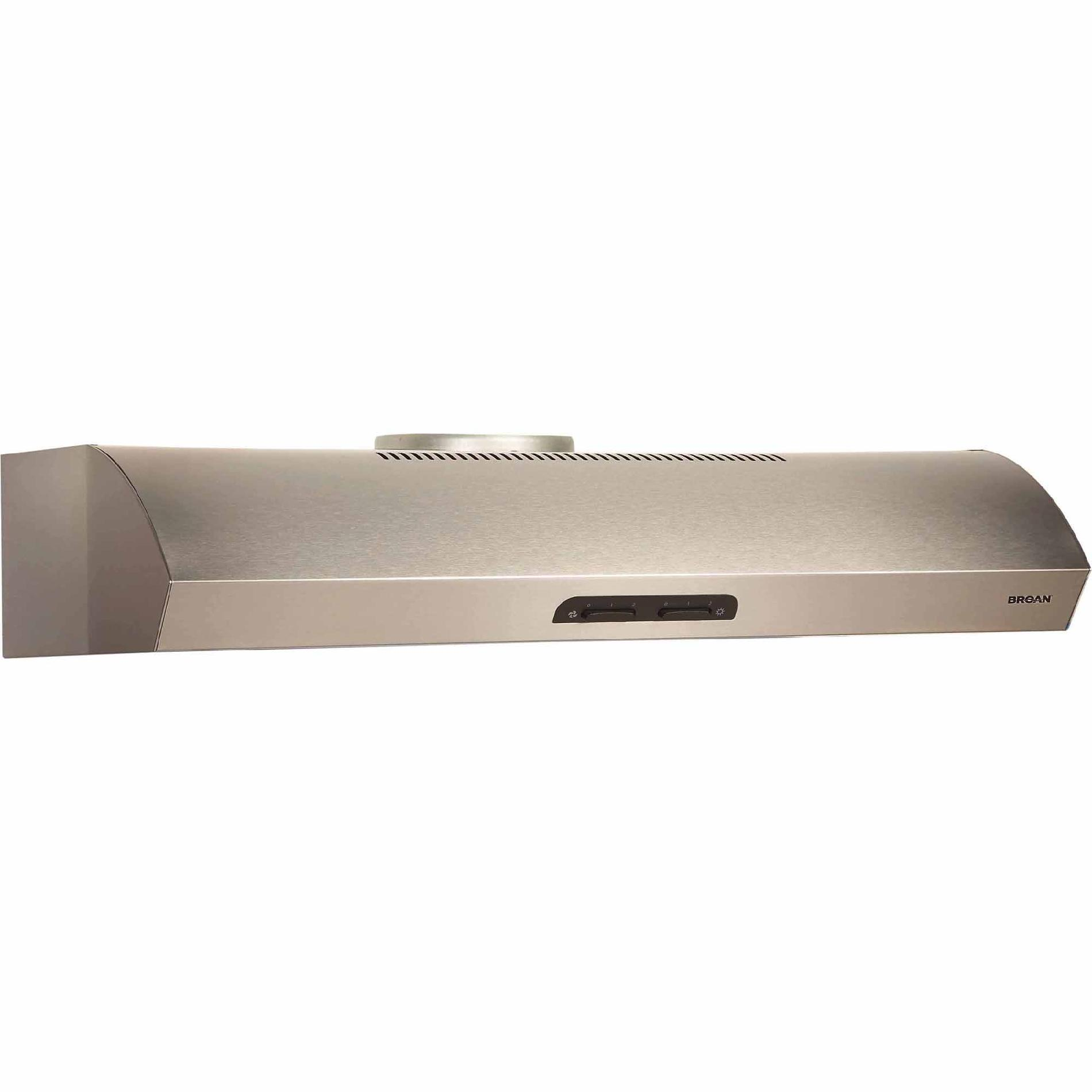 "Broan QP130SS 30"" 300 CFM Under Cabinet Range Hood - Stainless Steel"