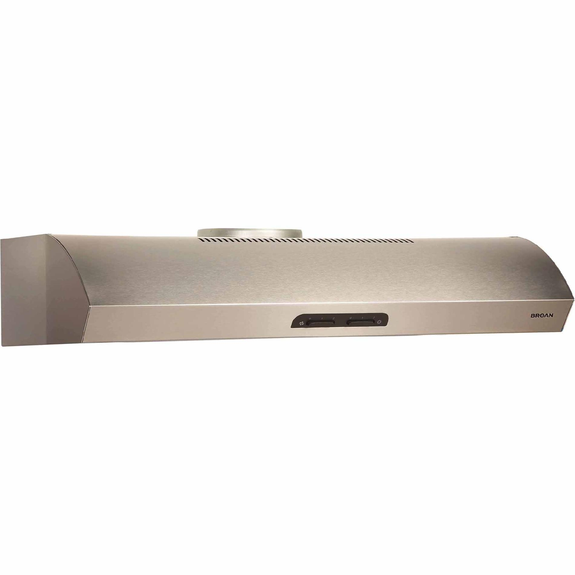 "Broan QP142SS 42"" 300 CFM Under Cabinet Range Hood - Stainless Steel"