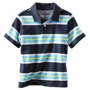 OshKosh Boy's Jersey Knit Polo Shirt - Striped at Sears.com