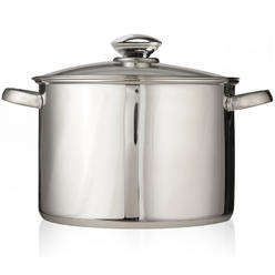 Pure Intentions 12 Qt Stock Pot - Stainless Steel at Kmart.com